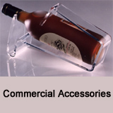 Acrylic commercial accessories