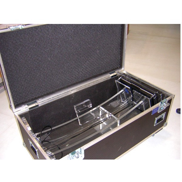 Flight case de aluminio