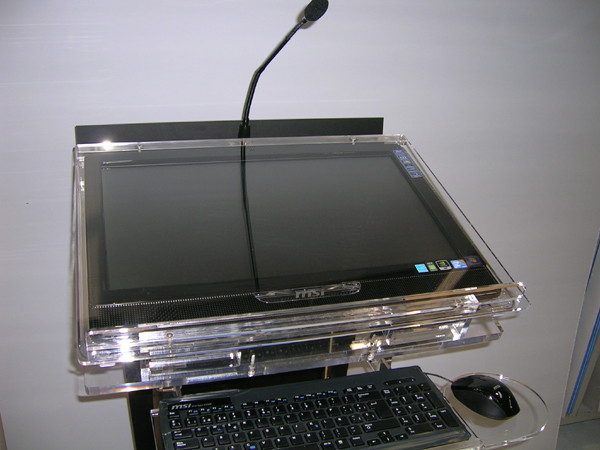 Atril profesional multi-touch