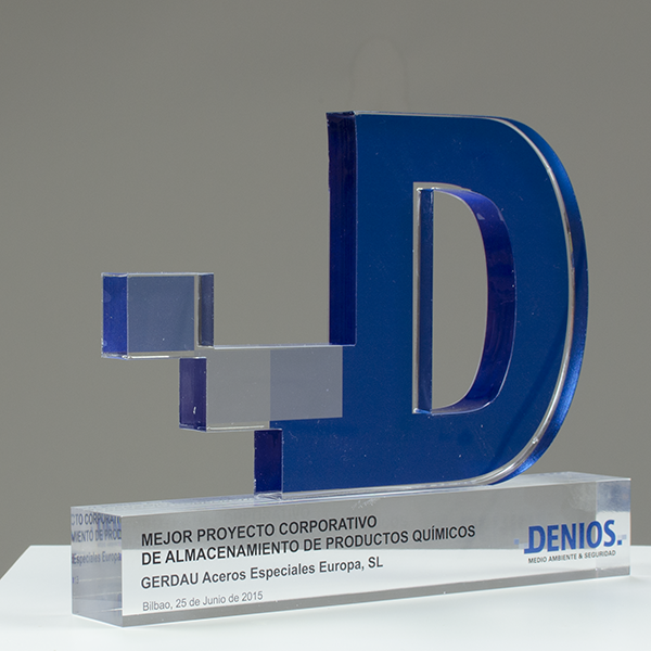 acrylic methacrylate trophy